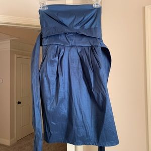 Classic Blue Party Dress